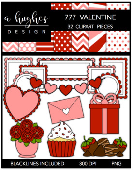 777 Valentine Bundle {Graphics for Commercial Use}