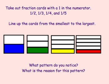 7.9 Comparing Fractions- Everyday Math, Grade 4  (2nd edition)