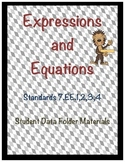 7.EE Expressions and Equations Student Data Folder