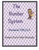 7.NS Number System Student Data Folders