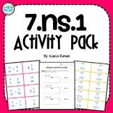 7.NS.1 Activity Pack