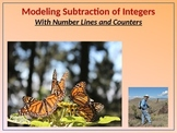 7.NS.1 Modeling Subtraction of Integers (BUNDLE) w/Number