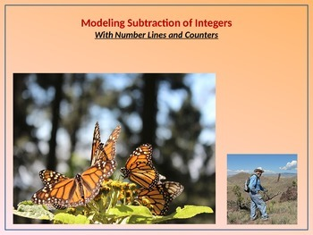 7.NS.1 Modeling Subtraction of Integers w/Number Lines and