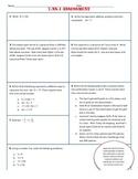 7.NS.1 Test/Assessment