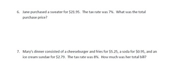 7.RP.3 - CCSS  Finding Taxes