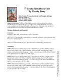 7h Grade Sketchbook Unit/Principles of Design