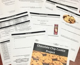 Cookie Project (Surface Area/Volume Cylinders)- 7th/8th Grade