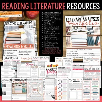 7th & 8th Grade English Language Arts Resources for ENTIRE School Year: EDITABLE
