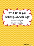 7th & 8th Grade Reading STAAR -ingo Pack