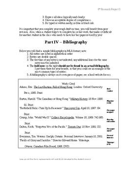 7th/ 8th Research Project - Argumentation & Debate Speech Oral Presentation