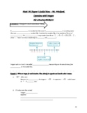 7th ACC. *WHOLE CHAPTER* Guided Notes - Operations with Integers