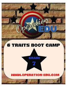 7th Grade 6 Traits Boot Camp