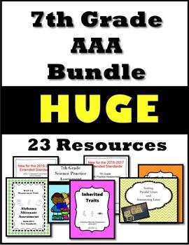 7th Grade AAA Resource Bundle