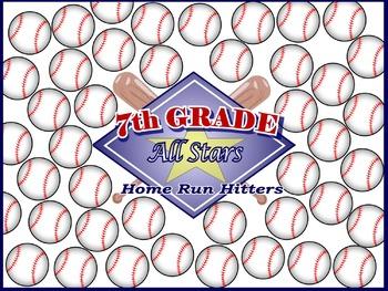 7th Grade All Stars