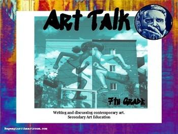 7th Grade Art Talk