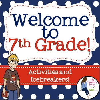 7th Grade Back to School Activities and Icebreakers