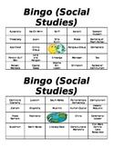 7th Grade Bingo for Milestone Review
