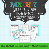 7th Grade Common Core Math Student Data Tracking Collectio