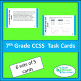 7th Grade CCSS Task Cards