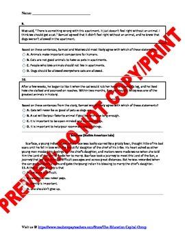7th Grade CCSS Theme Assessment