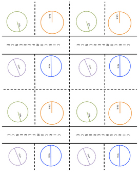 7th Grade Circumference & Circles Lesson: FOLDABLE & Homework