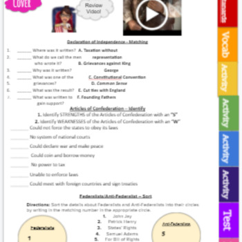 7th grade civics eoc category 1 2 3 4 study guides games rh teacherspayteachers com civics eoc study guide answers quizlet civics eoc practice test answer key