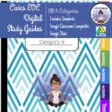 Florida Civics EOC Category 1, 2, 3, & 4 Study Guides, Gam