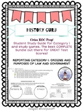 7th Grade Civics EOC Florida Category One Study Guides and Tests