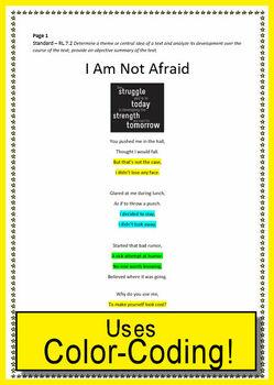 Grade 7 Close Reading Literature Bundle Print AND Paperless - Google Ready!