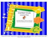 Context Clues L.7.4a Lesson Plan