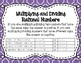 7.NS.2 Multiplying and Dividing Rational Numbers Task Card