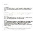7th Grade Common Core Aligned Literature Circles Roles
