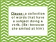 """7th Grade Common Core ELA """"I Can"""" Statements/Learning Targets (Chevron)"""
