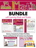 7th Grade Math Bundle with Marzano Learning Goals and Scales - EDITABLE