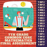 7th Grade Common Core Math Final Assessment
