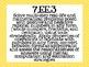 7th Grade Common Core Math Standards Posters- Neon Chevron