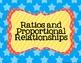 7th Grade Common Core Math Standards Posters- Rainbow Stars