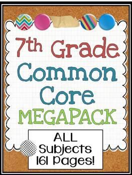 7th Grade Common Core Megabundle