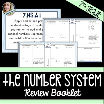 Number System Review Booklet