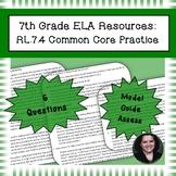 7th Grade Common Core Practice - RL.7.4 - 3-5 mini-lessons