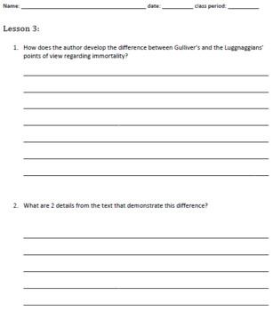7th Grade Common Core Practice - RL.7.6 - 3-5 mini-lessons