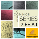 7th Grade Common Core Series: 7.EE.A.1