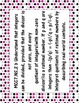 7th Grade Common Core Standards Posters **Pink and Grey