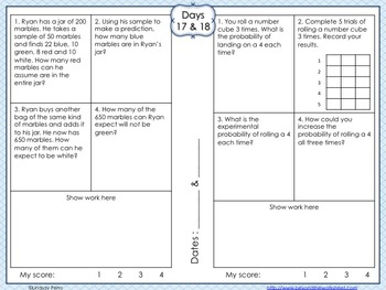 Statistics and Probability Review Booklet
