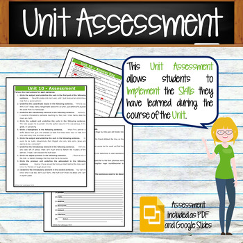 GRAMMAR & VOCABULARY PROGRAM - 7th Grade - Standards Based – Unit 10