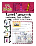 7th Grade ELA Assessment with Learning Goal 7.RL.1 and Sca