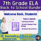 7th Grade ELA Back to School Bundle
