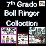7th Grade ELA Bell Ringer Collection ~ Three Bell Ringer P