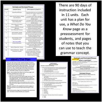 7th Grade ELA Bell Ringer With Mentor Sentences ~ Teach Grammar Effectively!