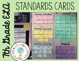 7th Grade ELA CCSS Standards Cards